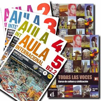 スペイン語中級会話教材