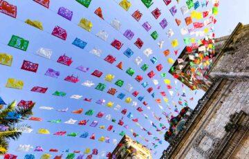 メキシコ 子供の日の旗